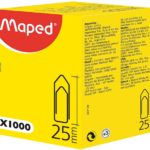 ATTACHE-LETTRES 25MM MAPED