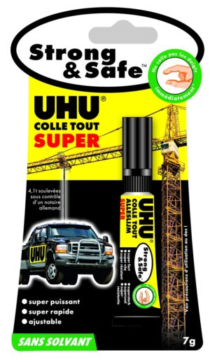 COLLE UHU STRONG & SAFE 7G