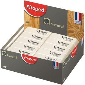 MAPED GOMME BLANCHE LARGE
