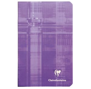 CARNET 7.5X12 5X5 48P CLAIREFONTAINE