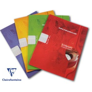 CAHIER MUSIQUE 22X17 CLAIREFONTAINE