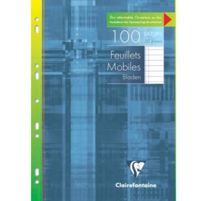 FEUILLES MOBILES A4 SEYES CLAIREFONTAINE