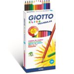 CRAYONS COULEURS GIOTTO ELIOS TRI /12