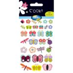 STICKERS COOKY COCCINELLES