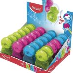 TAILLE CRAYONS GOMME ASTRO MAPED