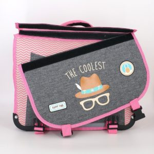 CARTABLE 38CM POLFOX THE COOLEST REVERSIBLE