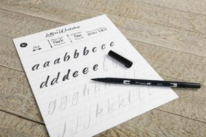 CLAIREFONTAINE CARNET FEELGOOD LETTERING