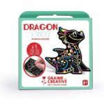 GRAINE CREATIVE ANIMAUX A GRATTER 3D DRAGONS