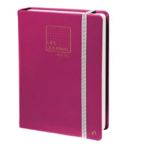 QUO VADIS CARNET LIFE JOURNAL DOTS POINT ROUGE CORAIL