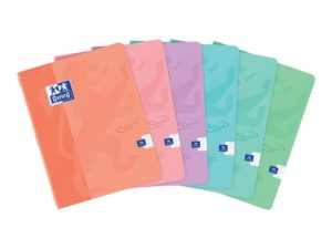 OXFORD CAHIER 17X22 96P SEYES TOUCH PASTEL