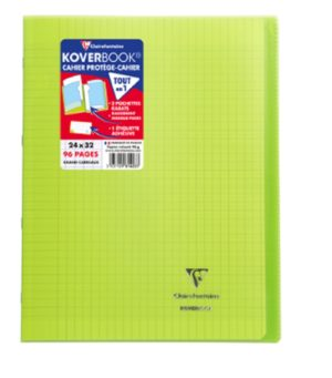 CLAIREFONTAINE CAHIER 24X32 96P SEYES KOVERBOOK